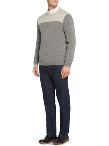 Howick Hudson Crew Neck Long Sleeve Jumper