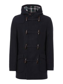 Hucklow Duffle Coat With Toggle Fastening