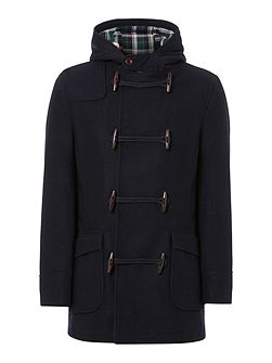 Men's Howick Hucklow Duffle Coat With Toggle Fastening
