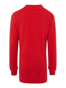 Boys long sleeve polo