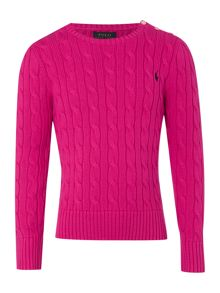 Polo Ralph Lauren Girl Long Sleeve Jumper