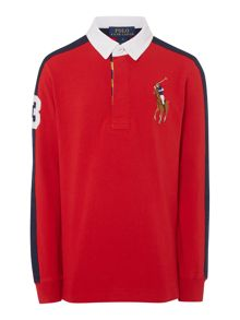 Boy Long Sleeve Rugby Top
