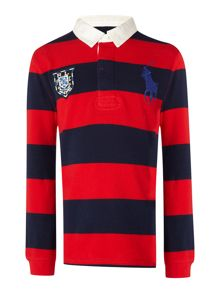 Polo Ralph Lauren Boys Long Sleeve Rugby