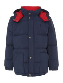 Polo Ralph Lauren Boys Padded Jacket With Removeable Hood
