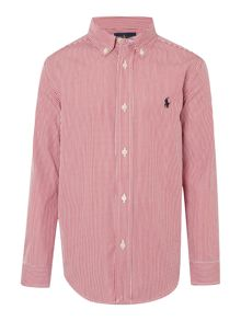 Polo Ralph Lauren Boy Long Sleeve Thin Stripe Shirt