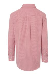 Boy Long Sleeve Thin Stripe Shirt