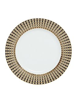 Deco Peacock Dinner Plate