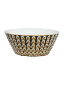 Deco Peacock Cereal Bowl