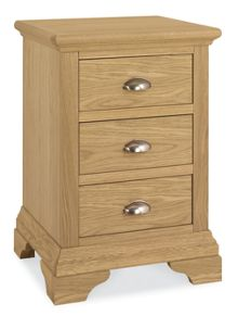 Laurent 3 drawer nightstand