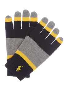 Boys Stripe Gloves