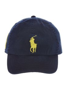 Boys Big Pony Player Cap