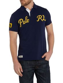 Polo Ralph Lauren Custom Fit Logo Mesh Polo