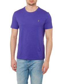 Polo Ralph Lauren Custom Fit Crew Neck Short Sleeve T Shirt