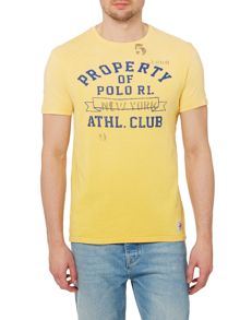 Polo Ralph Lauren Custom Fit Althletic Club Logo T-Shirt