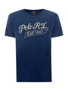 Polo Ralph Lauren Custom Fit Crew Neck Logo T-Shirt
