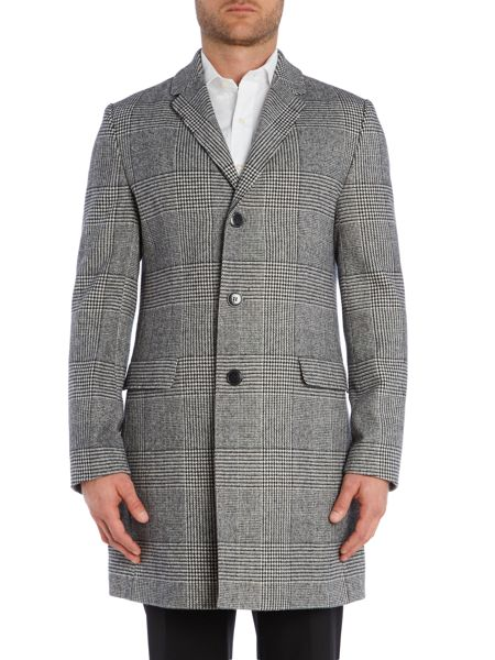 Hugo Migor2 Bold Check Coat