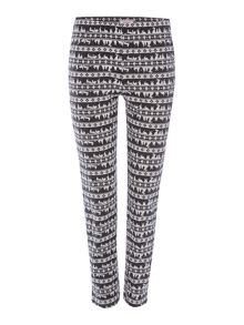 Therapy Rosie Rabbit Fairisle Legging