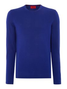 Sidalio Plain Crew Neck Pull Over Jumpers