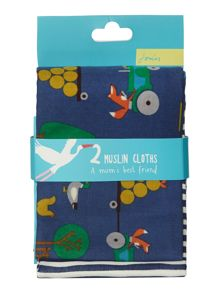 Joules Boys Cotton Muslin Set