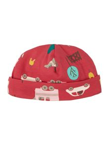 Joules Girls Gymkhana Print Reversible Hat