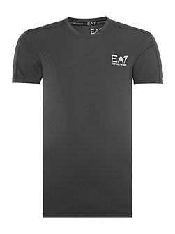 Men's EA7 Ventus Tennis Logo Crew Neck Regular