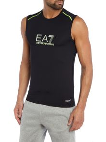 EA7 Vigor7 Logo Crew Neck Regular Fit Vest