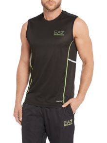 EA7 Ventus Logo Crew Neck Regular Fit Vest