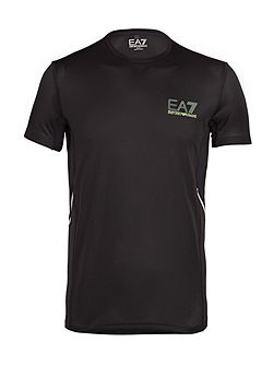 Men's EA7 Ventus Logo Crew Neck Regular Fit