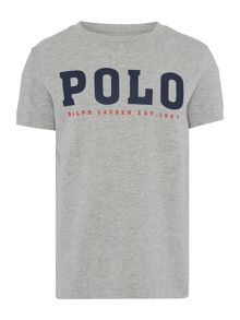 Polo Ralph Lauren Boys Short Sleeve Logo T-shirt
