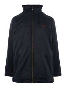 Polo Ralph Lauren Boy Jacket With Zip and Small Pony Player