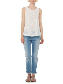 Therapy George slim boyfriend jean