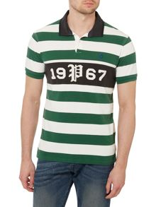 Custom Fit Striped 1967 Rugby Top