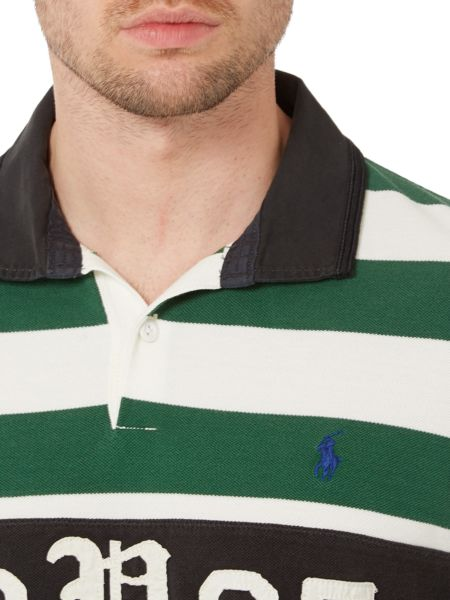 Polo Ralph Lauren Custom Fit Striped 1967 Rugby Top