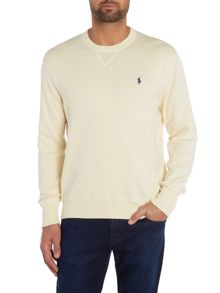 Cotton Crew-Neck Jumper