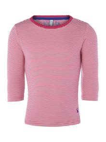 Joules Girls Striped Long Sleeve Top