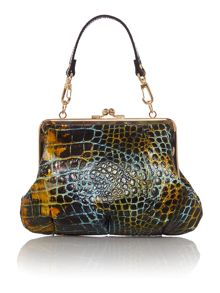 Beaufort multi snake clasp cross body bag