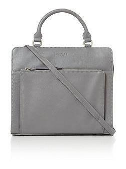 Radley Clerkenwell medium grey cross body tote bag