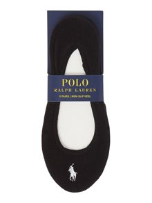 Polo Ralph Lauren 3 pair pack ultra low trainer liner
