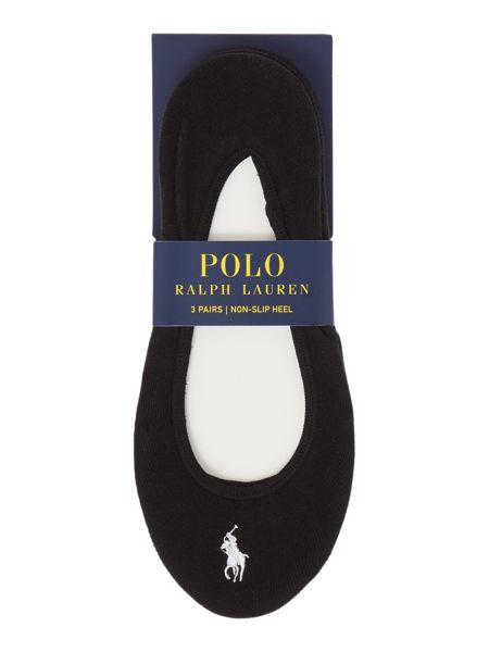 Polo Ralph Lauren Ultra low 3 pair pack liners