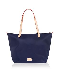 Pocket essentials large navy tote bag