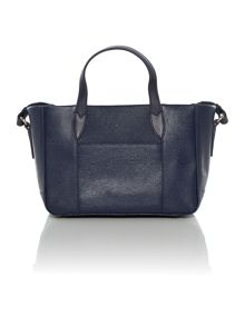 Columbia road medium navy cross body tote bag