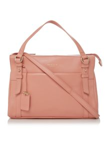 Chelsea small pink cross body tote bag