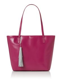 De beauvoir large pink tote bag