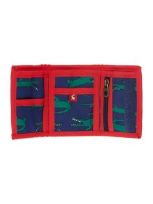 Boys Crocodile Print Wallet
