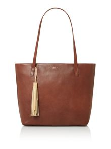 De beauvoir large tan tote bag