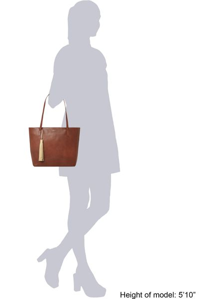 Radley De beauvoir large tan tote bag
