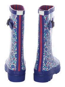Girls Ditsy Print Wellies