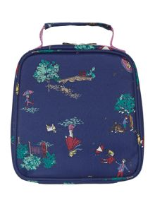 Girls Blustery Days Print Lunch Bag And Lunch Box