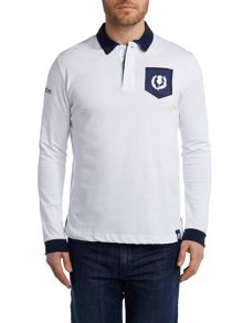 Logo Rugby Neck Regular Fit Rugby Top