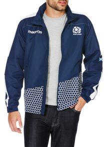 Scottish Rugby Casual Showerproof Full Zip Windbreaker